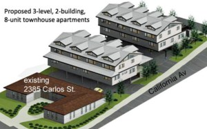 8-Unit Townhouse Apartments in Moss Beach Public Review at the MCC Meeting