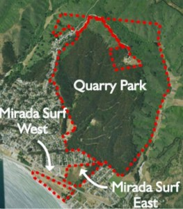 Quarry Park Master Plan Timeline Update from San Mateo County at the 6/26 MCC Meeting