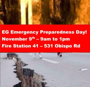El Granada Emergency Preparedness Event - Sat. Nov 9th @ EG Fire Station @ El Granada Prep | Half Moon Bay | California | United States