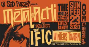 Metalachi: The World's First and Only Heavy Metal Mariachi Band @ Winter's Tavern | Pacifica | California | United States