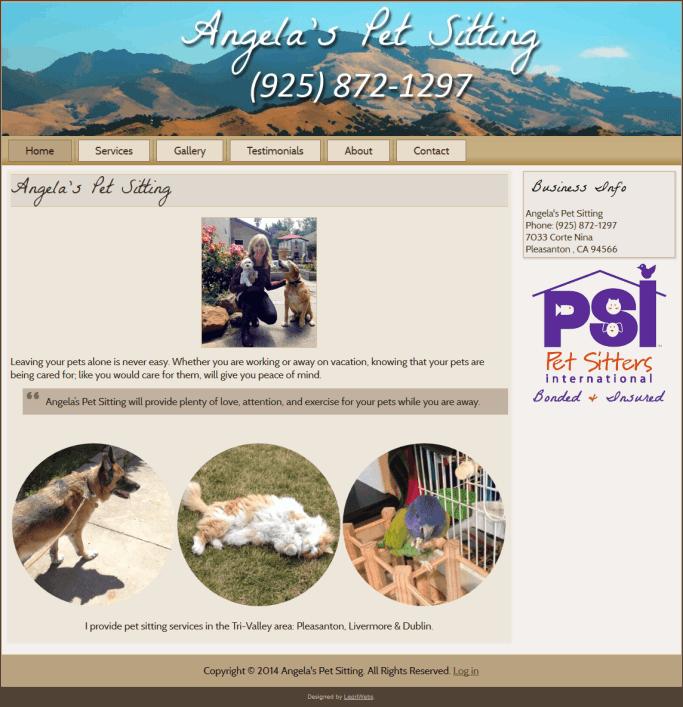 angelas-pet-sitting-homepage