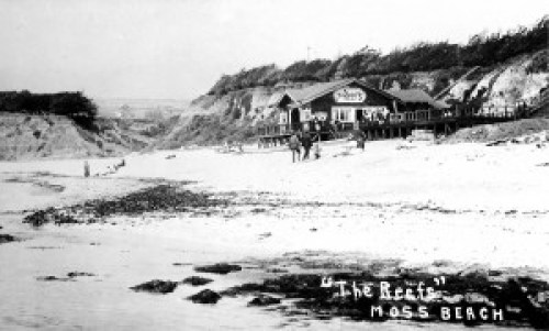 The Reefs in Moss Beach New Years Eve 1915.