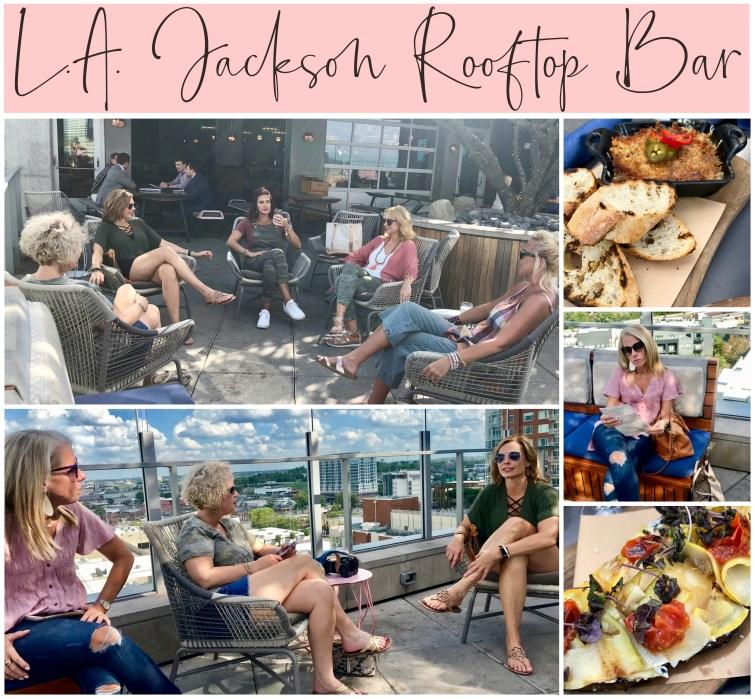 Blogger Meet Up, L.A.Jackson Rooftop Bar, Nashville