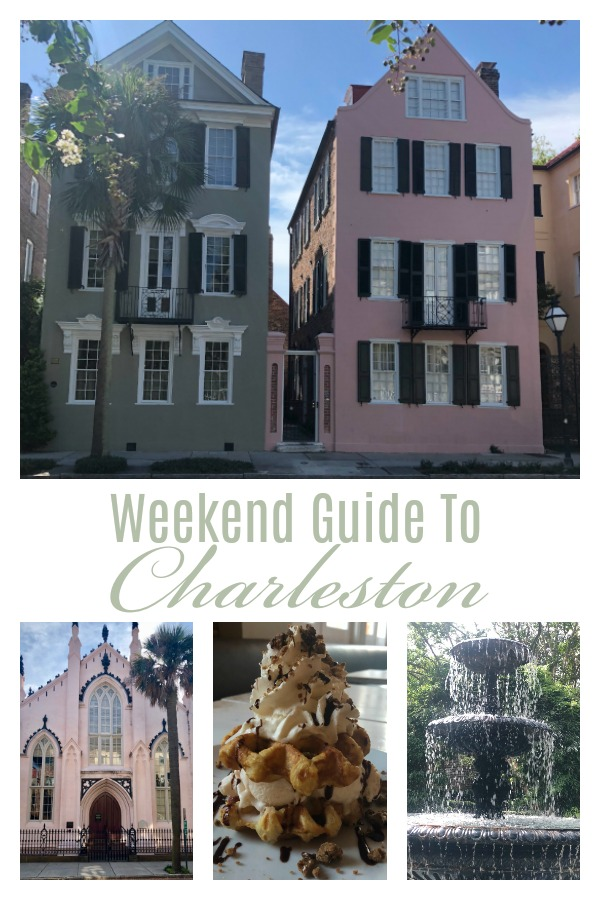 A Weekend In Charleston, SC
