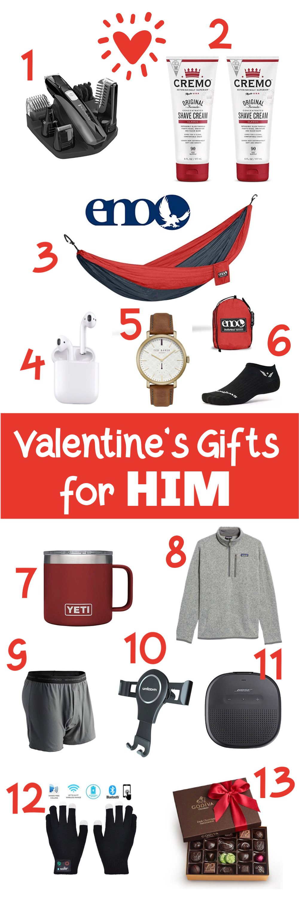 Friday Favorites – Gifts for Your Man Edition