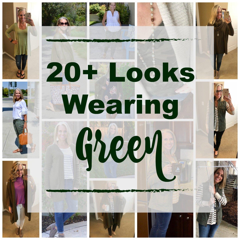 20+ Ways to Wear Green