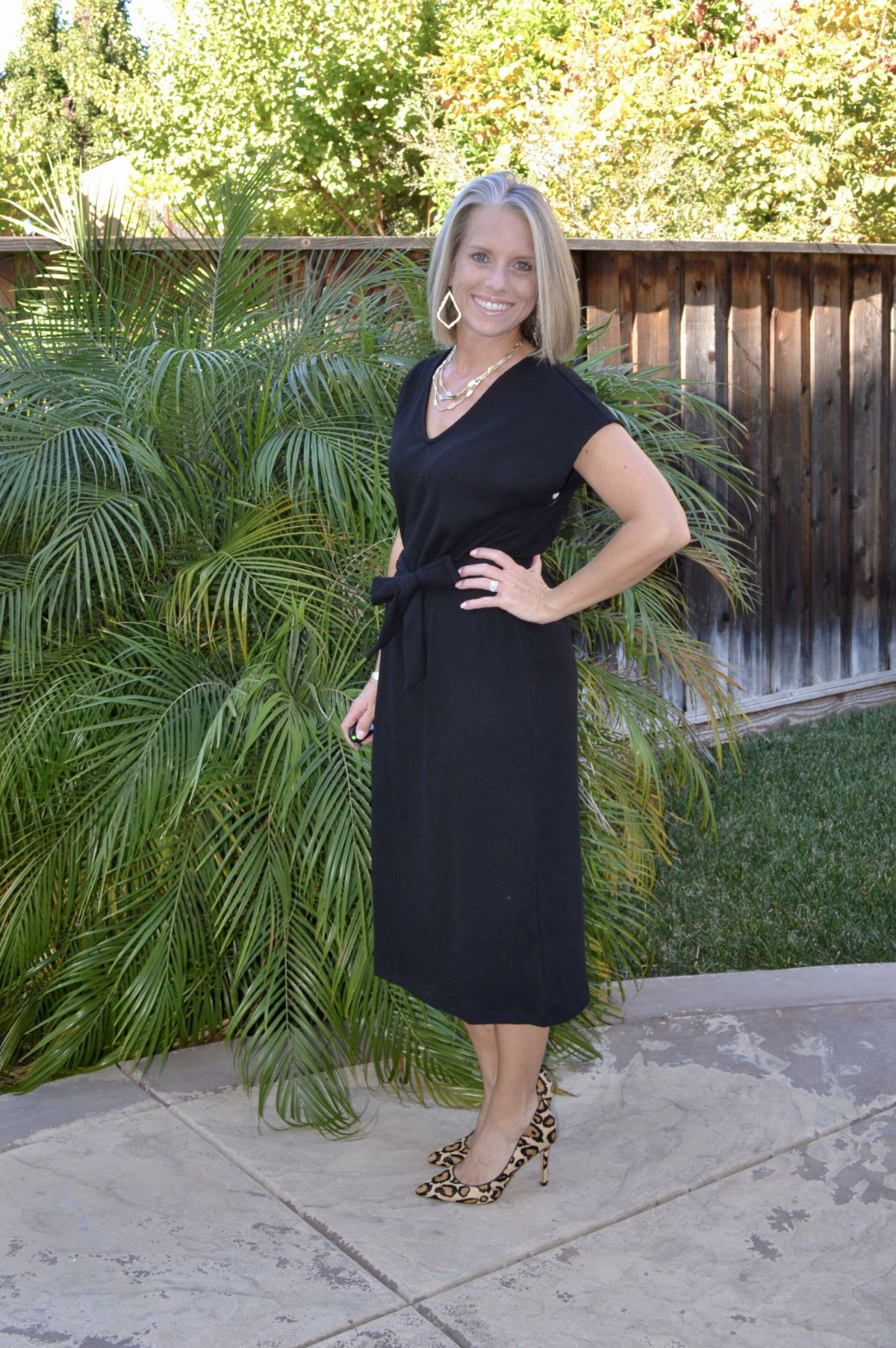 Old Navy Black Dress, Coast to Coast