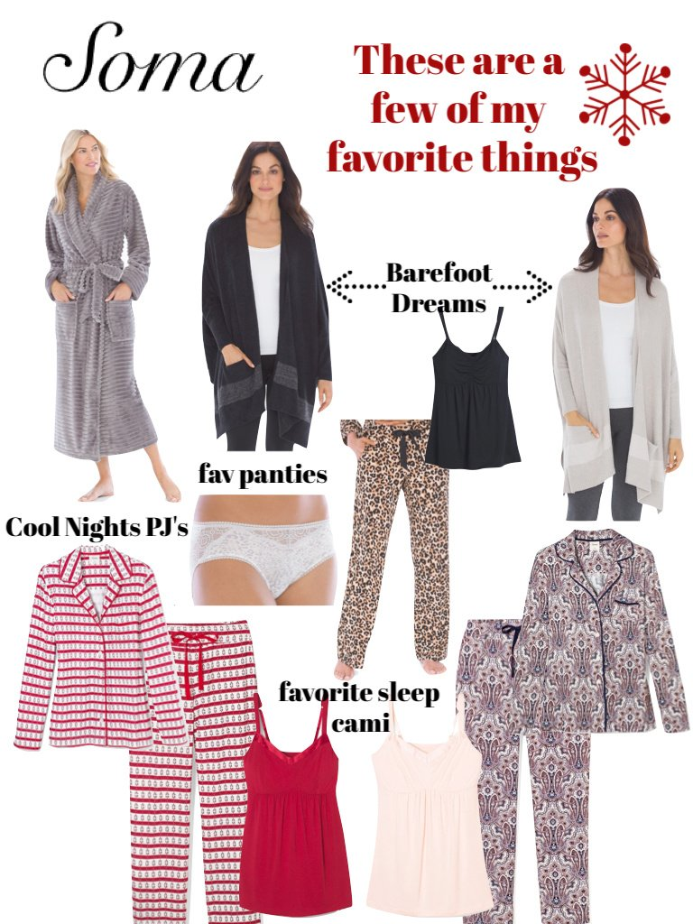 Soma Pajamas, what I'm loving lately