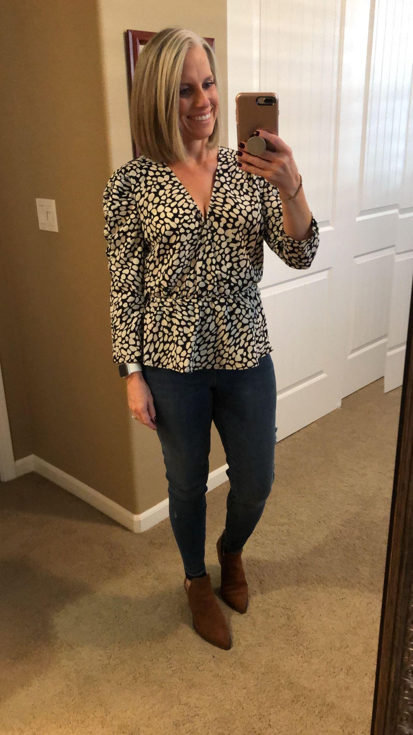 Target blouse