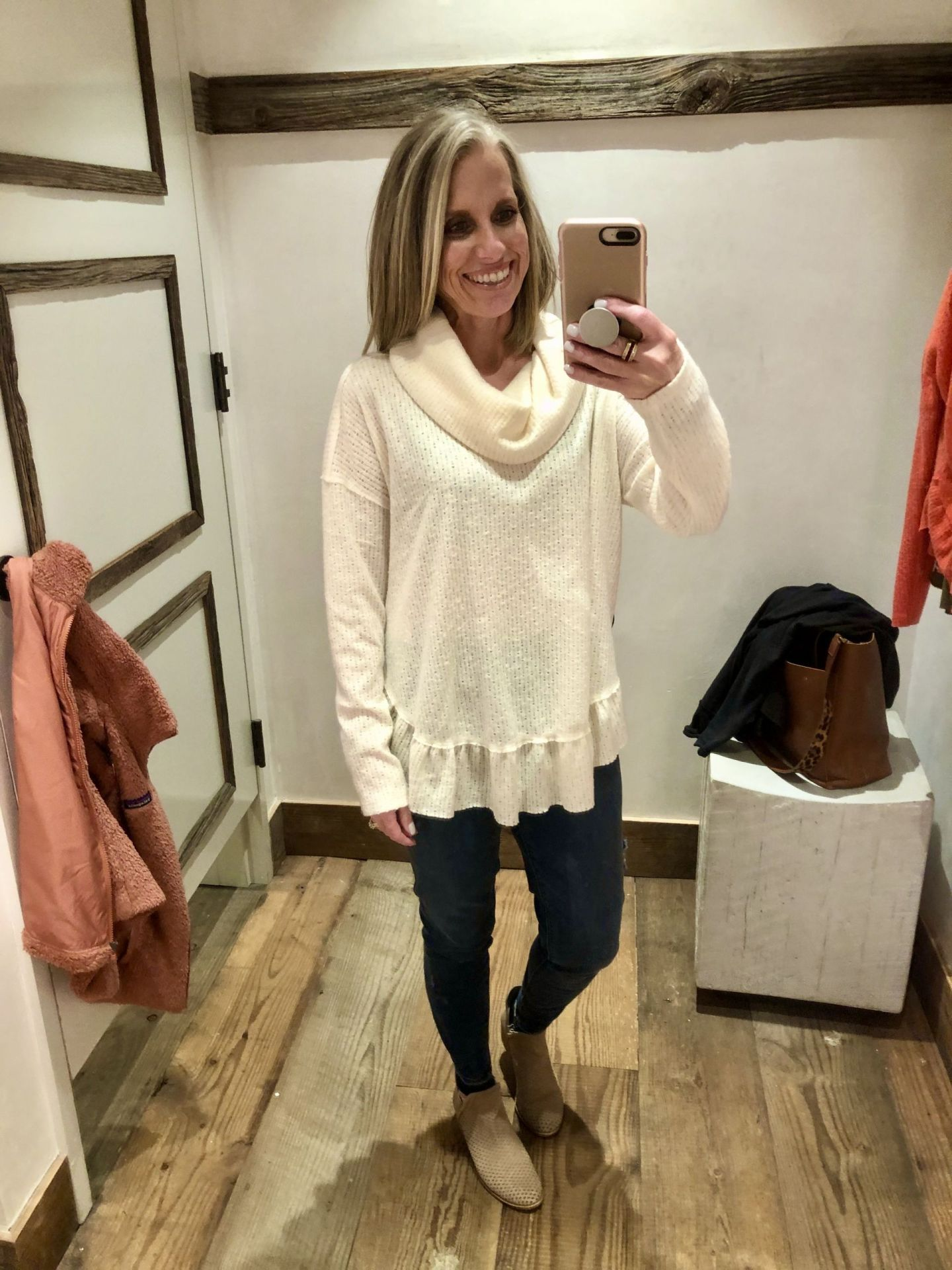Anthropologie Mini Try On
