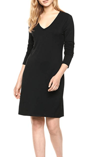 V-neck T-shirt Dress, Amazon
