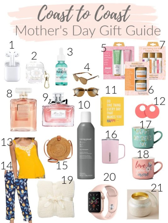 Mother's Day Gift Guide, Coast to Coast