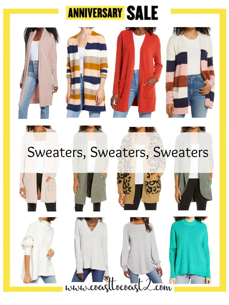 NORDSTROM ANNIV SALE SWEATERS