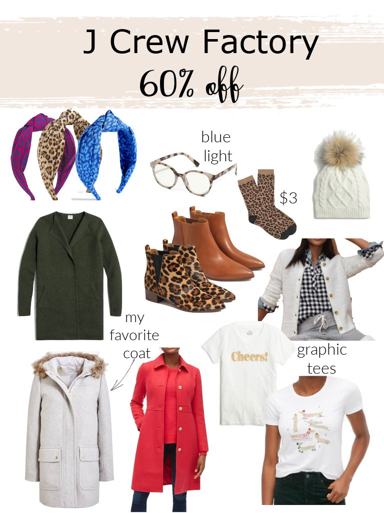 JCrew Factory Friday Favorites  Coast to Coast