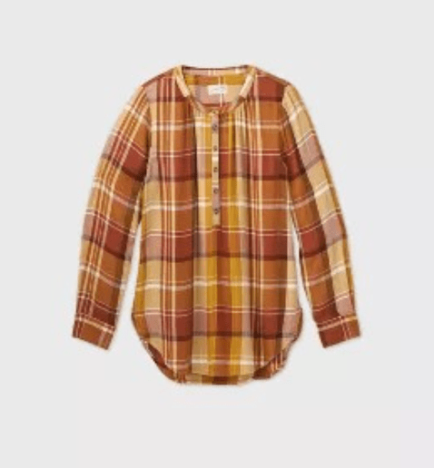flannel, November's top sellers