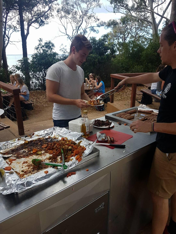 Aussie BBQ lunch