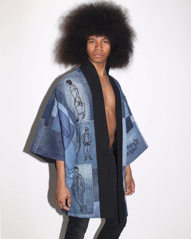 kimono model 2