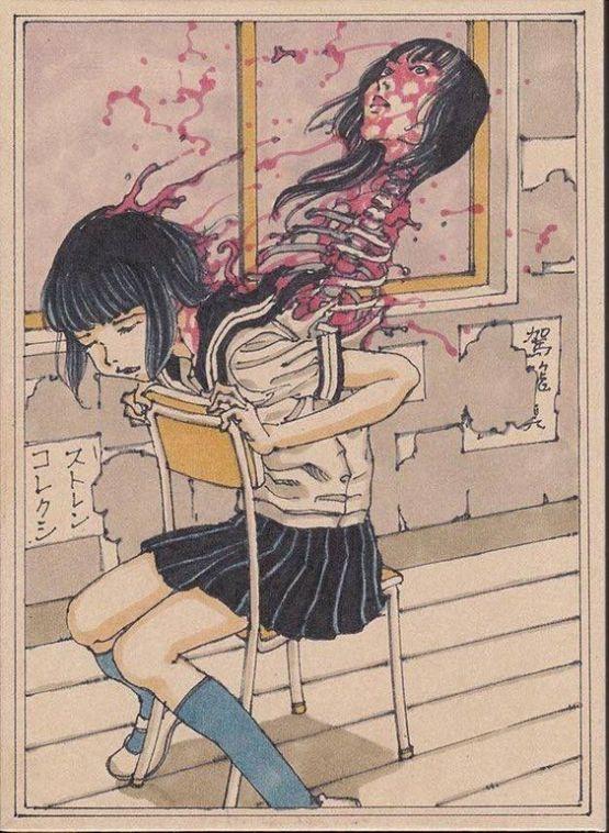 Artwork by Shintaro Kago