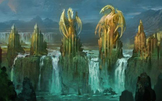 Dragon Falls, an exercise in worldbuilding