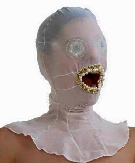 bizarre face mask