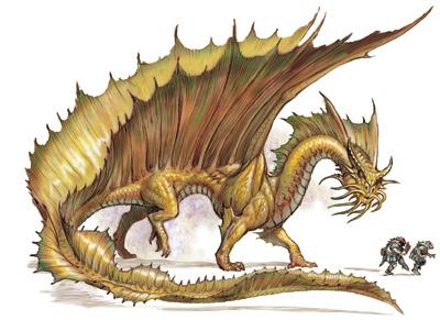 AD&D Gold dragon