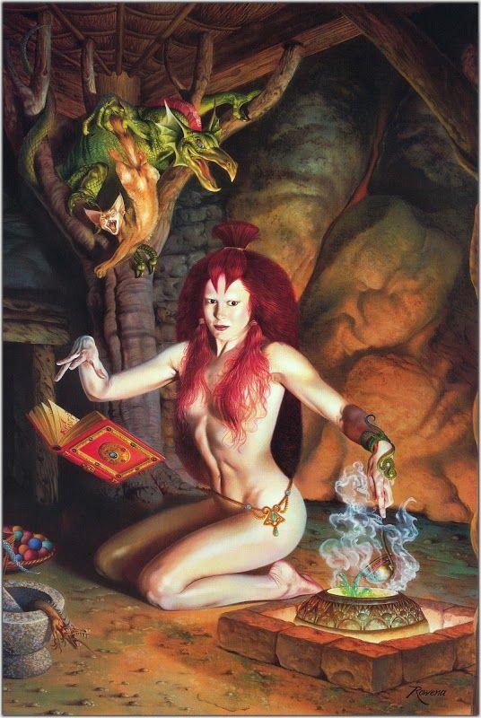 Rowena Morrill - The Sorceress