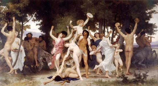 The Youth of Bacchus, by Adolph Bougeraeu