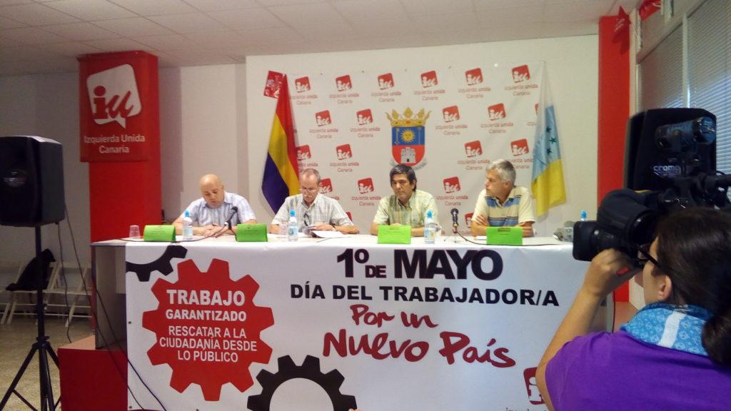 INTERVENCIÓN DE RAFA SEGURA, EN EL ENCUENTRO SINDICAL EN TELDE