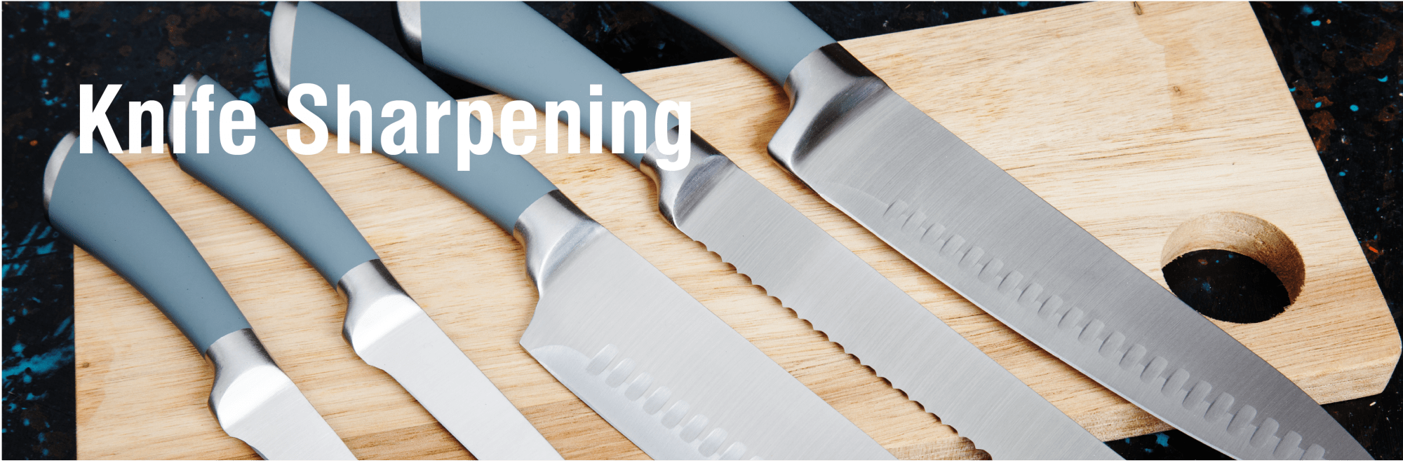 knife sharpening service, Bolton, Horwich, Chorley