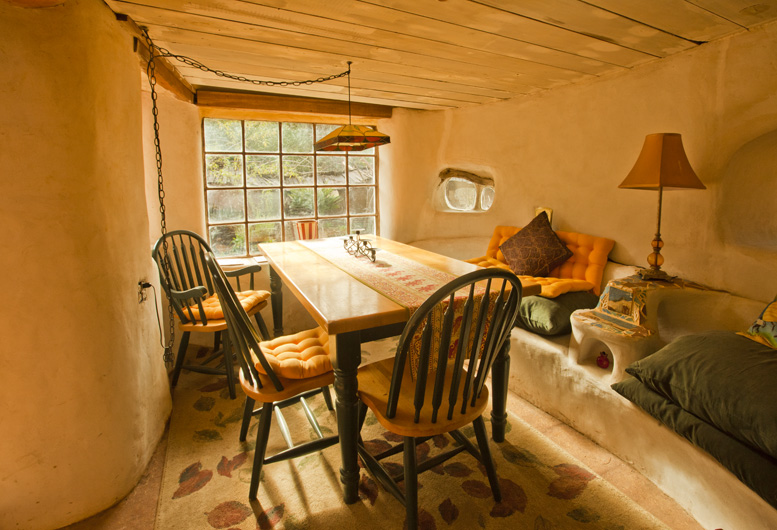 Laughing House Dining Room Cob Cottage Company