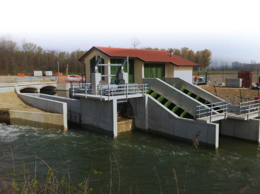 Impianto idroelettrico edilizia energie rinnovabili