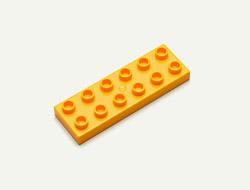 6X2 Sized Block x1