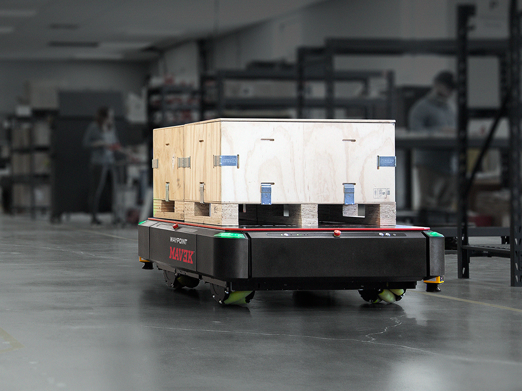 AHS to be systems integrator for Waypoint Robotics heavy-duty mobile robots