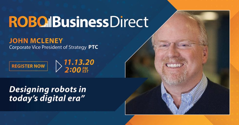 PTC VP to discuss how to design robots for the digital era in RoboBusiness Direct