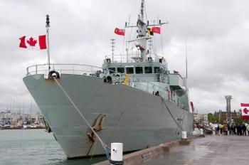 HMCS Goose Bay in Cobourg