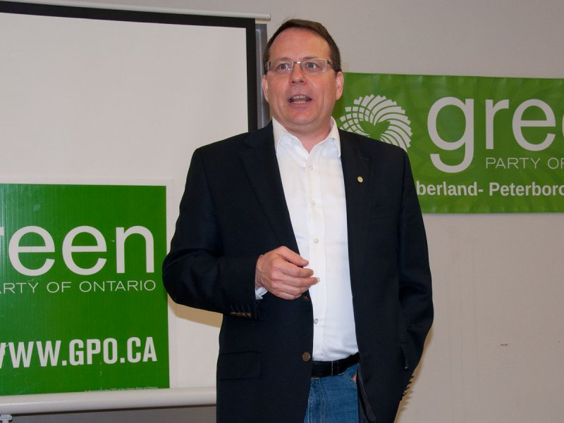 Leader of Green Party of Ontario - Mike Schreiner