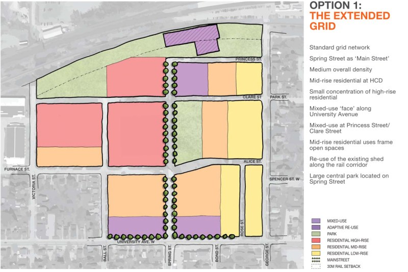 Tannery District - Option 1