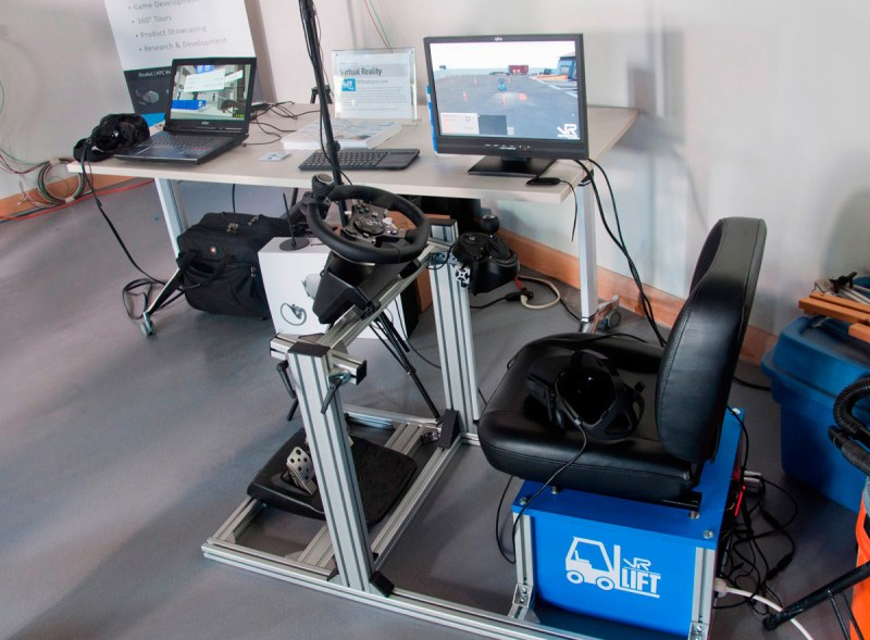 Venture 13 Maker Lab - VR for Lift Truck