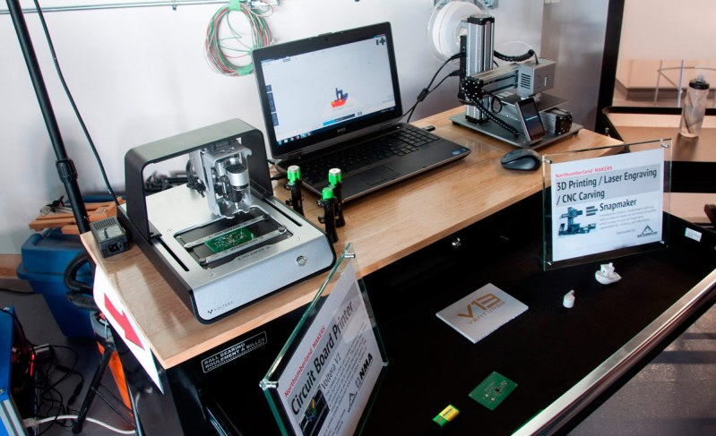 Venture 13 Maker Lab - Circuit Board and 3D printers