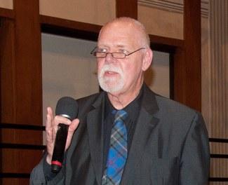 Rob Washburn - at Town Hall meeting