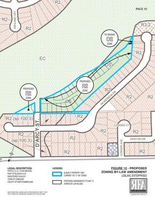 Nickerson Development - Re-zoning Map