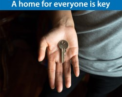 A home for everyone is key
