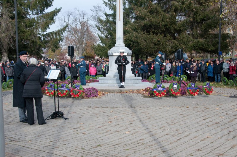 Remembrance Day - Waiting to start