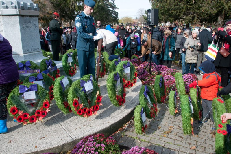 Remembrance Day - Some of the Wreaths