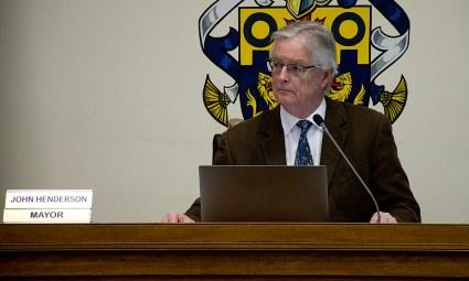 Mayor John Henderson - 19 Feb