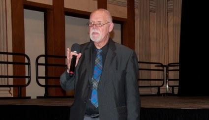 Rob Washburn at Town Hall Meeting