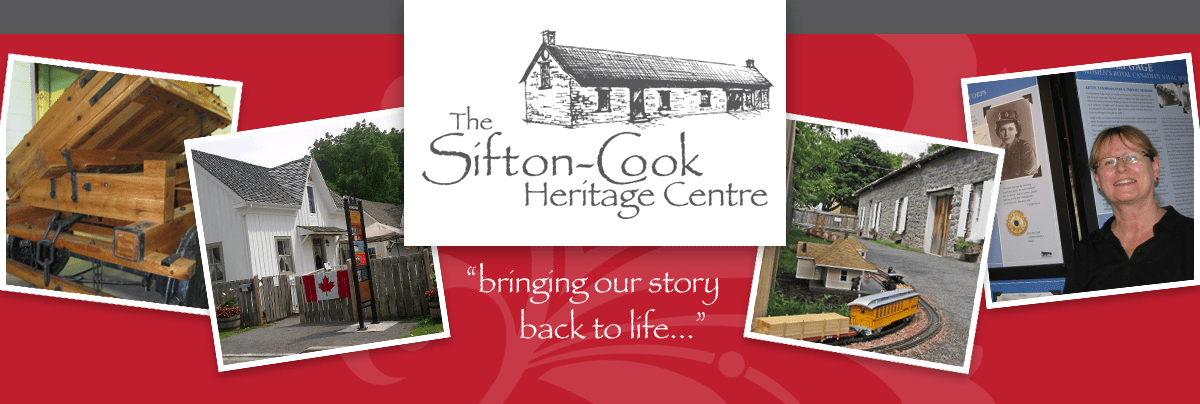 Sifton-Cook Heritage Centre Cobourg Ontario Northumberland