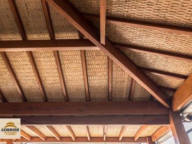 pergolado madeira cobertura coberto forro teto esteira trelica bambu bamboo preco modelos valinhos pergola caramanchão gourmet