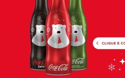 Bouteille Coca-Cola Collector au Brésil pour Noël 2016