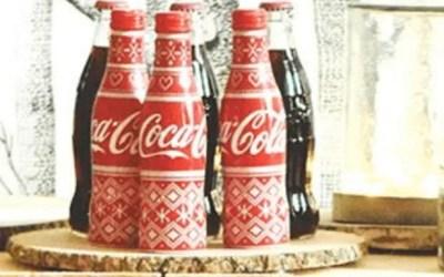 La bouteille Coca-Cola collector de Noël en France